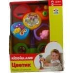 Іграшка на присоску Kiddieland-preschool Квіточка озвучено російською мовою
