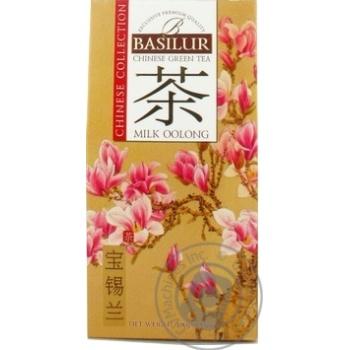 Чай Basilur зеленый китай milk oolong 100г - купить, цены на Метро - фото 1