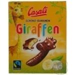 Конфеты банановое суфле Casali жирафы 140г
