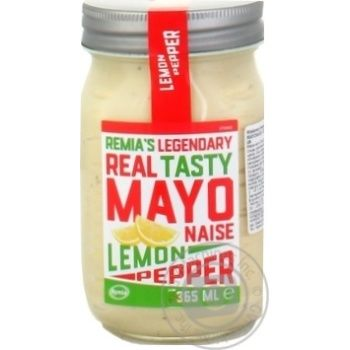 Майонез Remia с лимоном и перцем 68% 365мл