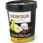 Мороженое Gelateria Callipo с сыром Рикотта, кусочками груши и каплями шоколада 310г