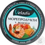 Veladis in pickle seafood 200g