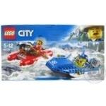 Конструктор Lego City Побег бурной рекой 60176