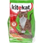 Корм для кошек сухой Kitekat Мясной Пир 400г