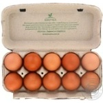 Kvochka selected chicken eggs C0 10pcs - buy, prices for Furshet - image 2