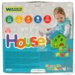 Іграшка-сортер Wader Будиночок розвиваючий - купити, ціни на CітіМаркет - фото 2
