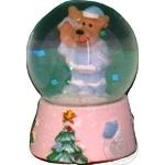 Декорація куля на підставці Koopman alx605040 6см