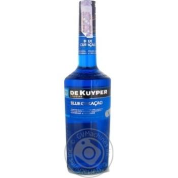 Лікер De Kuyper Blue Curacao 24% 0,7л - купити, ціни на Novus - фото 1