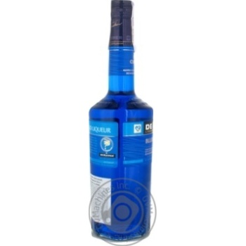 Лікер De Kuyper Blue Curacao 24% 0,7л - купити, ціни на Novus - фото 3