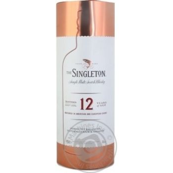 The Singleton of Dufftown 12 years whisky 40% 0,7l metal box - buy, prices for Novus - image 2