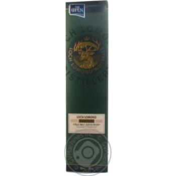 Віскі Loch Lomond Original 40% 0,7л - купити, ціни на МегаМаркет - фото 3