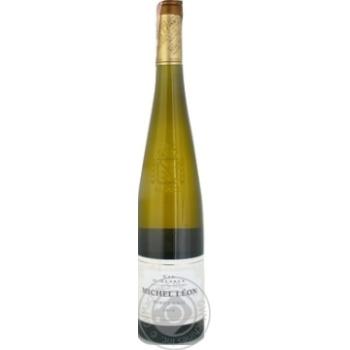 Вино Michel Leon Pinot Gris біле напівсухе 13% 0.75л - купити, ціни на МегаМаркет - фото 1