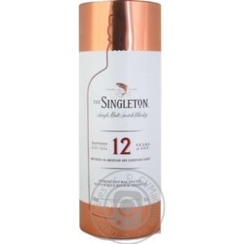 Виски The Singleton of Dufftown 40% 12 лет 0,7л металлическая коробка - купить, цены на Novus - фото 1