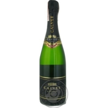 Calvet Cremant de Bordeaux White Brut white dry wine 10,5% 0,75l - buy, prices for CityMarket - photo 2