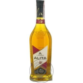 Бренди Alita вишня 36% 500мл - купить, цены на Фуршет - фото 1