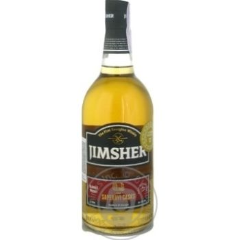 Виски Jimsher Georgian Saperavi Casks 40% 0,7л - купить, цены на Фуршет - фото 1