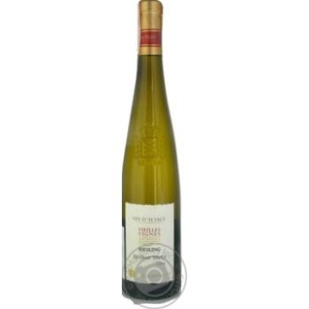 Вино Vin D'alsace Arthur Metz Vieilles Vignes Riesling белое полусухое 12.5% 0,75л