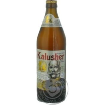 Пиво Kalusher Lager светлое 0,5л