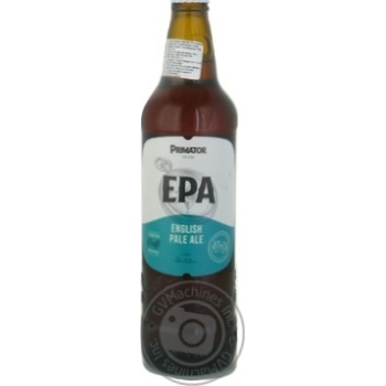 Пиво Primator English Pale Ale 0,5л