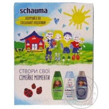 Набір Schauma Сімейні цінності Шампунь 3*250мл