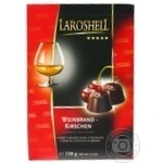 Laroshell Chocolate Candies with Cherry and Brandy 150g