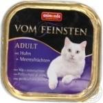 Консервы для взрослых кошек Vom Feinsten с курицей и морепродуктами 100г