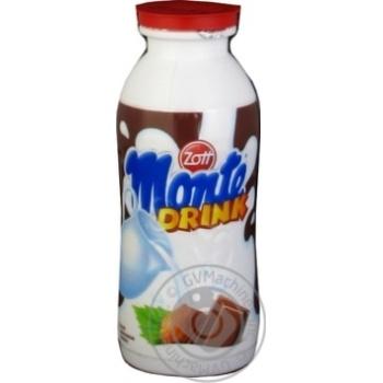 Zott Monte Milk drink Chocolate Nuts 1.8% 200ml - buy, prices for MegaMarket - image 1