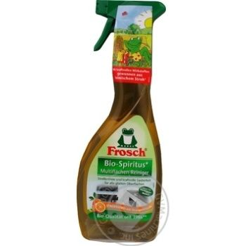 Purifier Frosch orange for cleaning surfaces 500ml