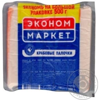 Economy Market Chilled Crab Sticks 500g - buy, prices for MegaMarket - image 1