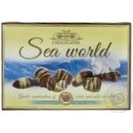 Конфеты шоколадные Slavyanka Морской Мир 22 пралине 145г