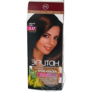 Elitan Intensive Hair Dye №2.17 Black Coffee