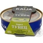 Тунець Kaija в олії з зеленим перцем та лимон 185г х6