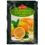 Lemon acid Aromix for desserts 20g packaged