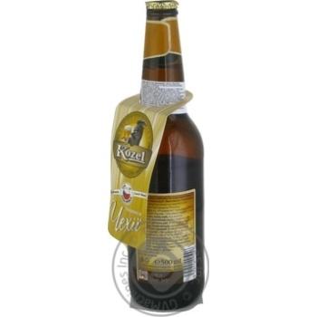 Пиво Kozel Premium Lager светлое фильтрованное 4,5% 0,5л - купить, цены на МегаМаркет - фото 2