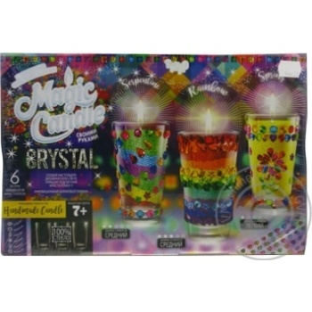 Danko Toys Candle Crystal Set for Creativity