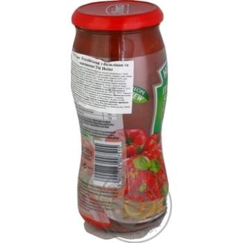 Sauce Heinz Italian with basil 500g - buy, prices for Novus - image 2