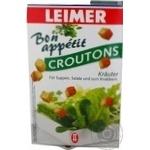 Сухарики Leimer Croutons со вкусом ароматных трав 100г