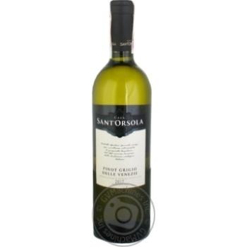 Вино Casa Sant'Orsola Pinot Grigio белое сухое 11% 0,75л