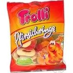 Конфеты Trolli Персиковые кольца фруктовые жевательные 150г