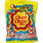 Chupa Chups Sour Tubes Mini fruit jellies 150g