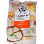 Сухарики Flint Baguette пшен вкус французский сыр 110г