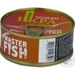 Ікра мойви Master Fish пробійна 80г