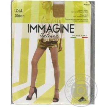 Колготи жін. Immagine LOLA 20DEN PES 3 - купить, цены на МегаМаркет - фото 1