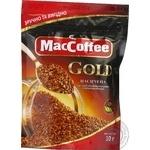 Кава MacCoffee Gold натуральна розчинна сублімована 30г