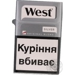 Сигареты West Silver пачка