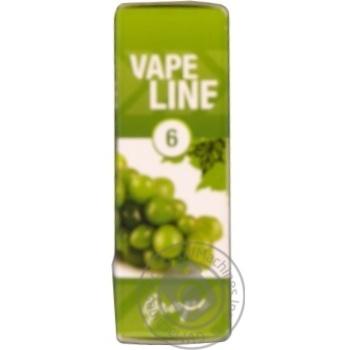 Жидкость Vape Line Grape для электро испарителя 6мг 10мл