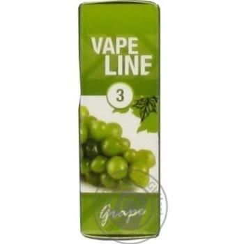 Жидкость Vape Line Grape для электро испарителя 3мг 10мл