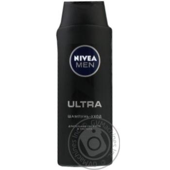 Шампунь-догляд чоловік Nivea Ultra 400мл