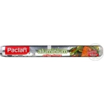 Фольга алюмінієва Paclan 12м - купить, цены на Novus - фото 1