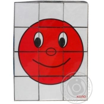 Кубики Геометрические друзья - купить, цены на Novus - фото 1